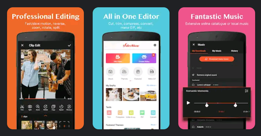 11 Best  Android Apps To Edit TikTok Videos VideoShow