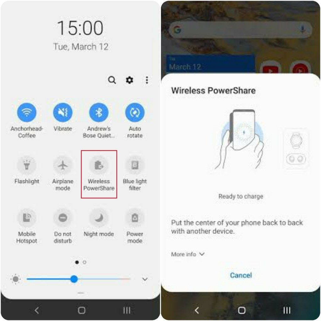 Samsung Galaxy S20 Ultra Hidden Features, Tips And Tricks Reverse Wireless Charging