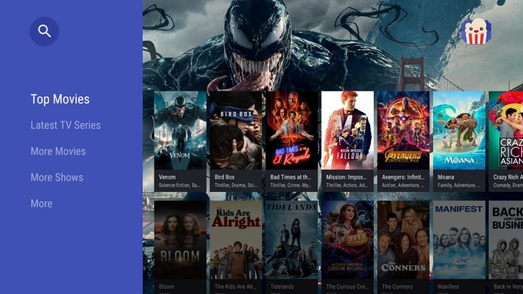 Popcorn Time ShowBox Alternative