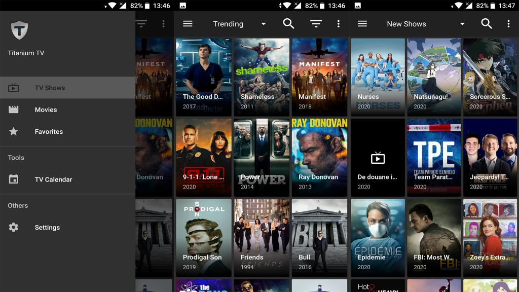 Tianium TV ShowBox Alternatives