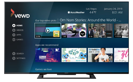 How to install Apps On Hisense Smart TV unsing VEWD App Store