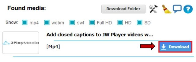 how to download jw player videos firefox addon