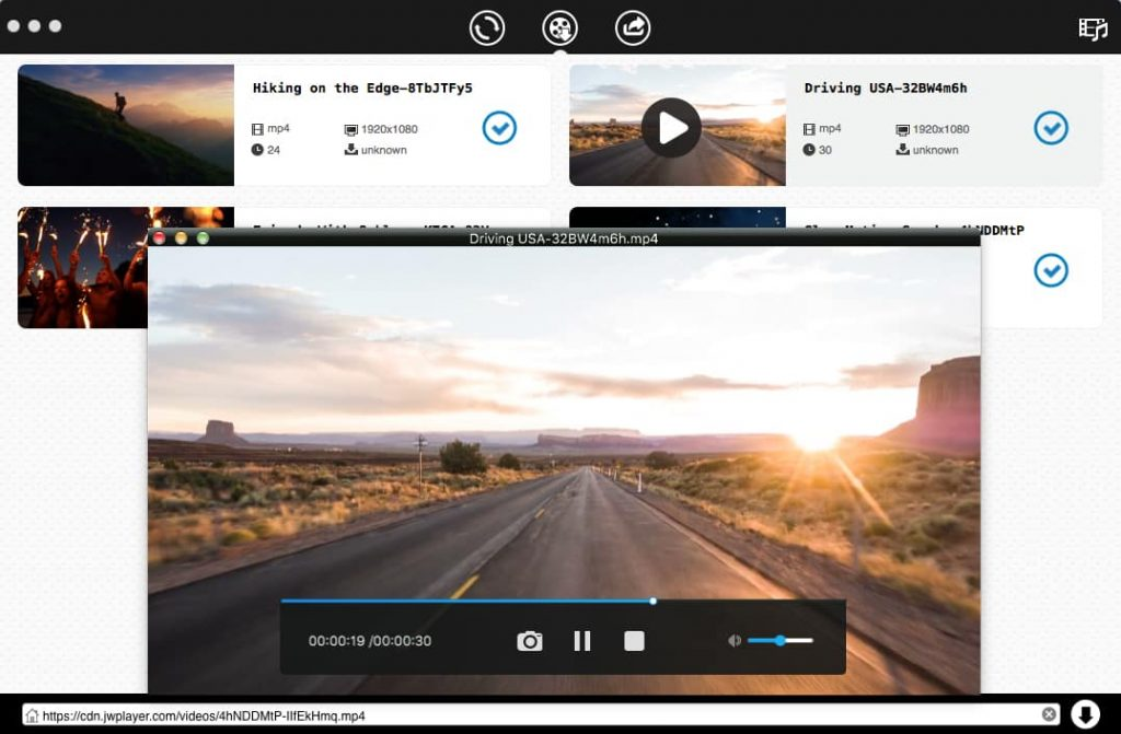 how to download jw player videos mac