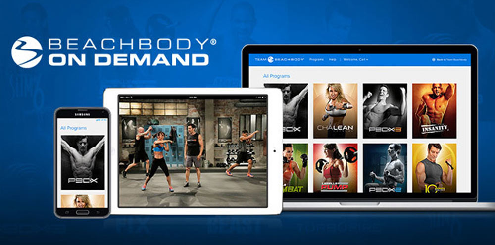 how to get beachbody on demand on my smart tv