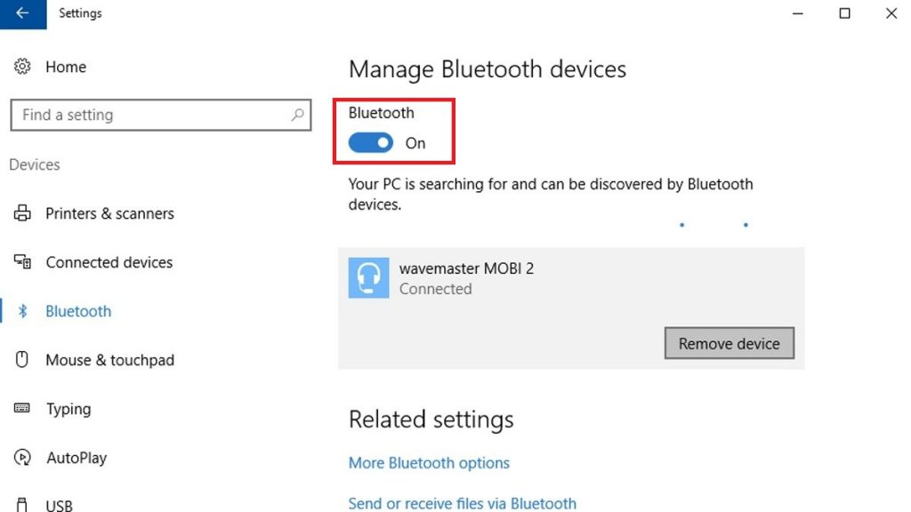 Connect Blackweb Headphones To Windows 10 Bluetooth
