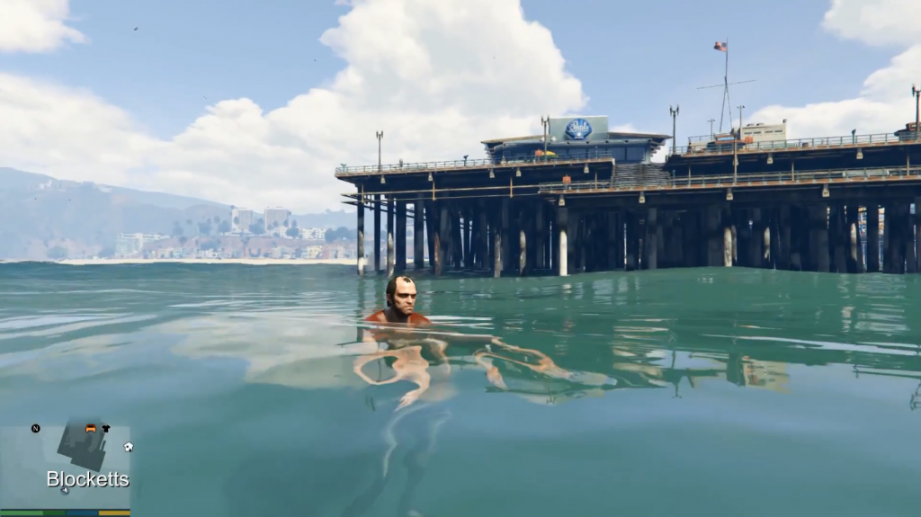 How To Dive In GTA 5 In PC