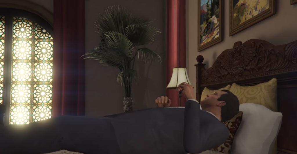 Save Your Progress In GTA 5 While Sleeping