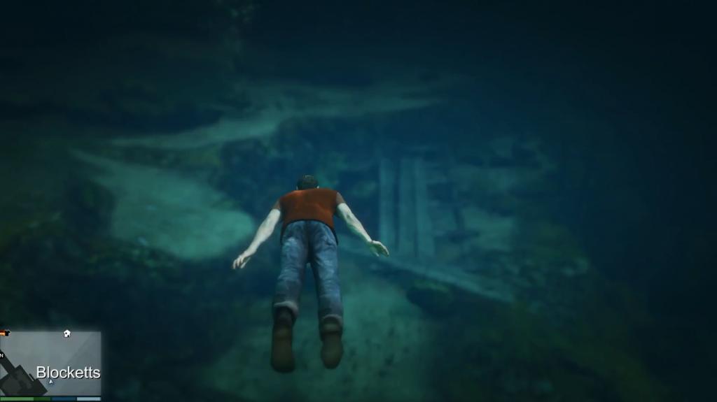 Swim Underwater In GTA 5