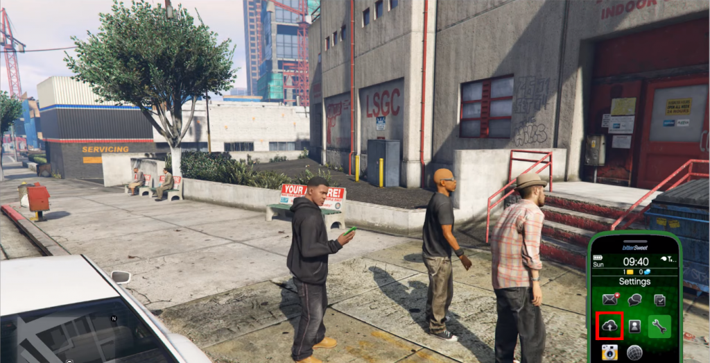 Save Your Progress In GTA 5 Using Cell Phone